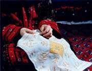 هنر سوزندوزی ترکمن