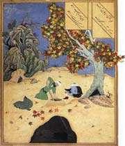 کمال الدین بهزاد، مانی زمان