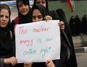 l'énergie nucléaire est notre droit incontestable
