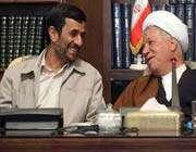 احمدی نژاد و هاشمی رفسنجانی
