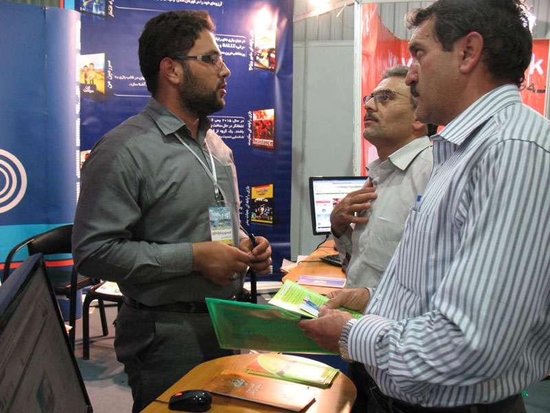 غرفه تبیان اصفهان در چهارمین روز نمایشگاه تخصصی مخابرات، اطلاعرسانی و صنایع وابسته