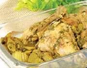 آشنایی با روش تهیهی خورش مرغ و کرفس