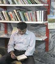 تنور داغ فرهنگ در سرمای کتابخوانی