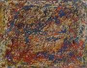 هنرمند تابلوهای برآمده از بنا