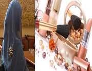 آیا خانم باحجابی که آرایش کرده مرتکب گناه شده؟