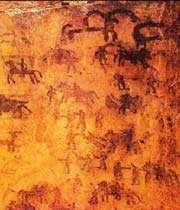 هنر در غارهای میرملاس