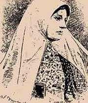 نگاه بدون لذت، به عکس زن با حجاب آرایش کرده