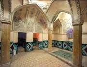 باغ فین، حمام قاجاری