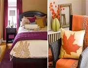 رنگهای گرم برای اتاقهای منزل