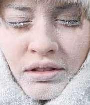 تاثیر سرما روی پوست