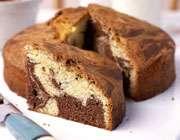 کیک مرمرین شکلاتی
