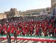 حضور دانش آموزان و فرهنگیان بجنورد در راهپیمایی 22 بهمن امسال غرور آفرین بود