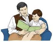قصه خواند برای کودک، ارتباط پدر و کودک