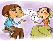صحبت کردن همسران