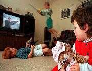تاثیر تلویزیون در مجرم شدن کودکان