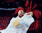 белуджская вышивка