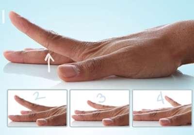 ورزش انگشتان دست