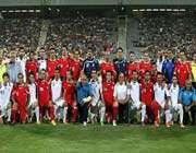 یک نیمه فوتبال و یک دنیا حرف!