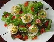 سالاد با تخم مرغ