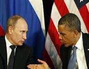 پوتین و اوباما