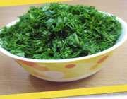 تهیهی رولت کوکو سبزی