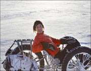 سهچرخه سواری در قطب جنوب!