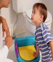 آموزش رفتن به دست شویی
