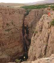 شلال پیران فی مدينة كرمانشاه