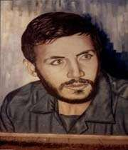 شهید در راه کربلا