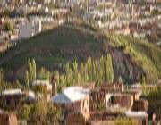 قرية وشلال قلات في محافظة فارس