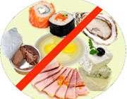 غذاهای ممنوعه برای مامانهای آینده
