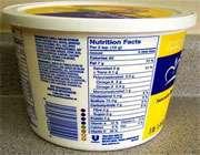 جدول حقایق تغذیه ای چیست؟