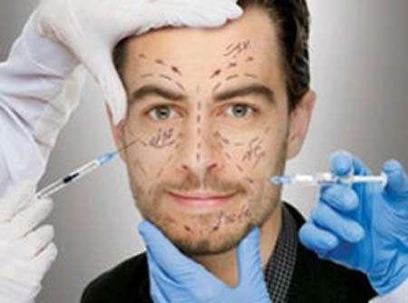 عمل زیبایی صورت مردان