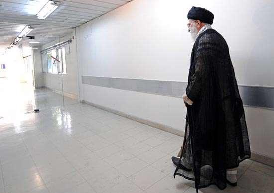 مرخص شدن رهبر معظم انقلاب اسلامی از بیمارستان