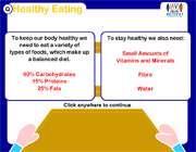 نیاز غذایی بدن انسان
