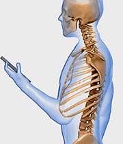 موبایل و فشار به گردن و ستون فقرات