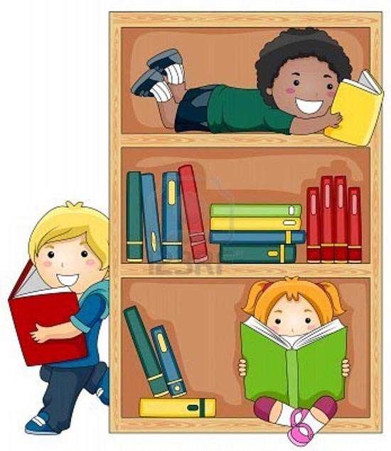 آشنا کردن کودکان با کتاب