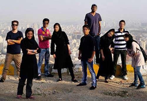 فرق جوان ایرانی واروپایی