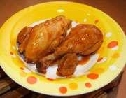 آشنایی با روش تهیه مرغ آب پز و تزئین های آن