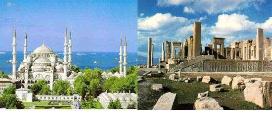 مقایسه ای جالب بین گردشگری ایران و ترکیه