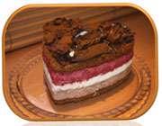 آشنایی با روش تهیه کیک بستنی قهوه با شکلات