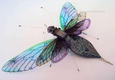 حشرات زیبای الکترونیکی<br>