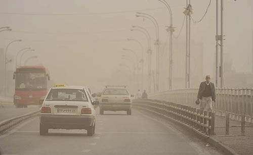 هوای تهران خاک می پاشد!<br>