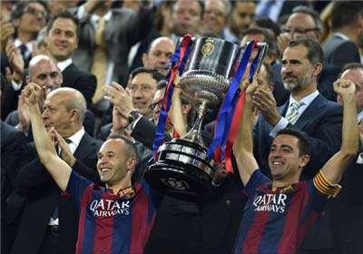 دومین قهرمانی بارسلونا