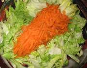 کاهو و هویج