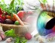 تغذیه و بینایی