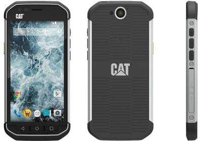 کاترپیلر و معرفی گوشی اندرویدی ضد ضربه Cat S40