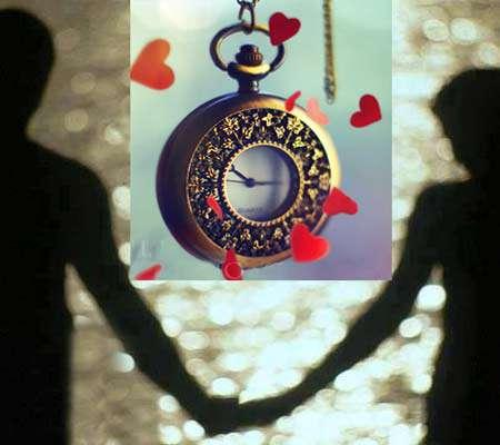 زمان عشق ، با هم بودن