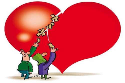 دل هایی که برای هم تنگ نمی شوند
