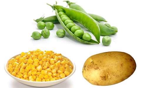 ذرت، سیب زمینی و نخودفرنگی